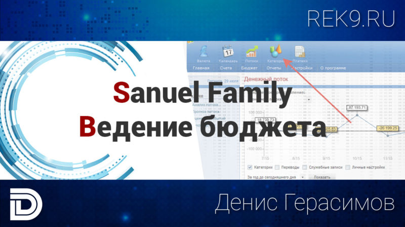 Заставка к видео - Ведение бюджета. Программа Family